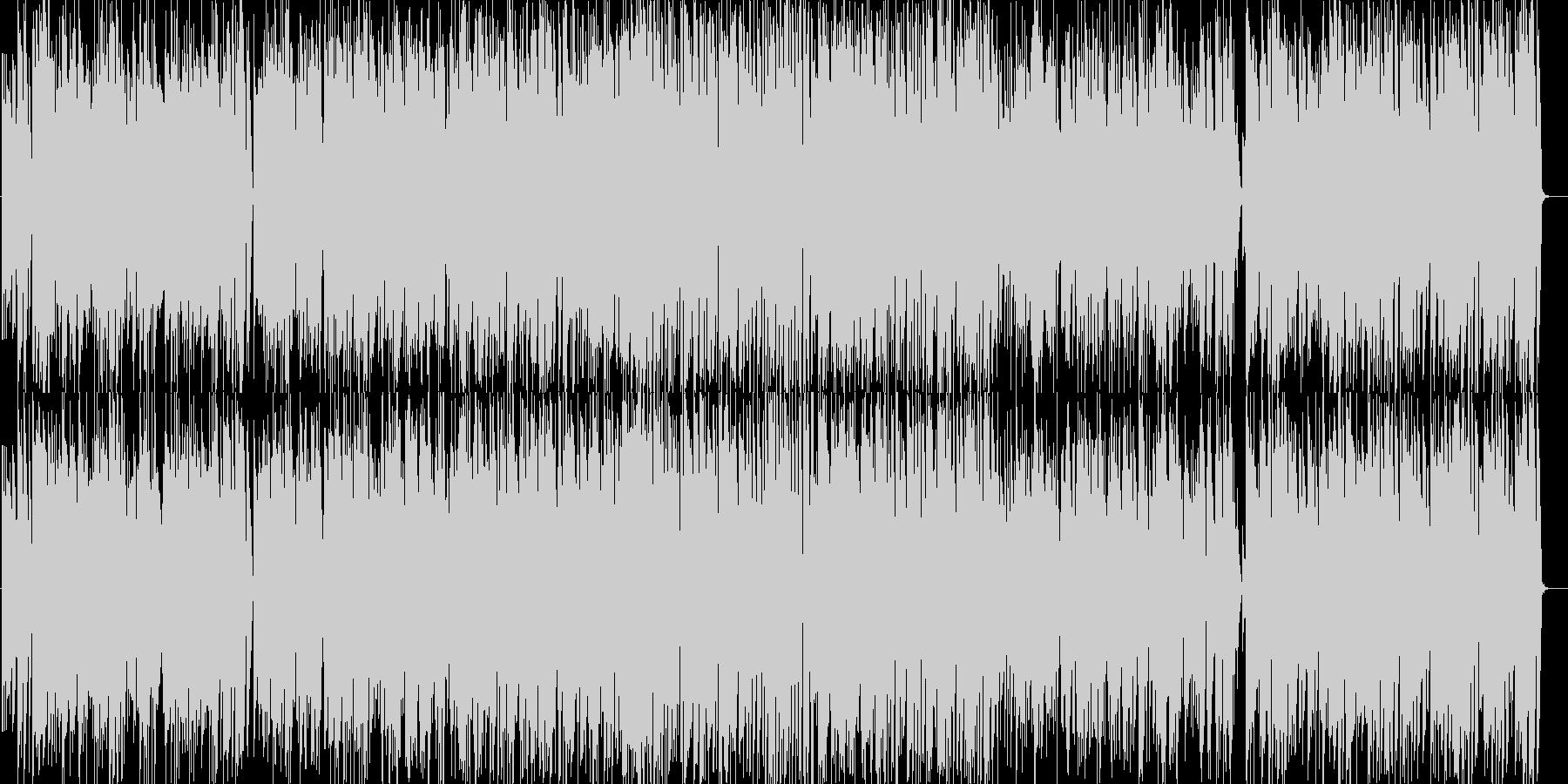 一月一日のジャズピアノトリオの未再生の波形