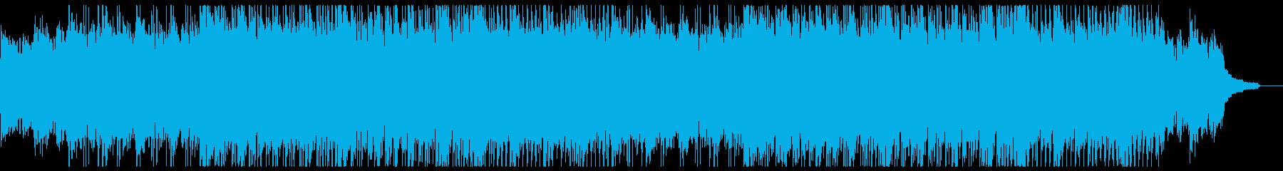 ポジティブでアクティブなピアノポップの再生済みの波形
