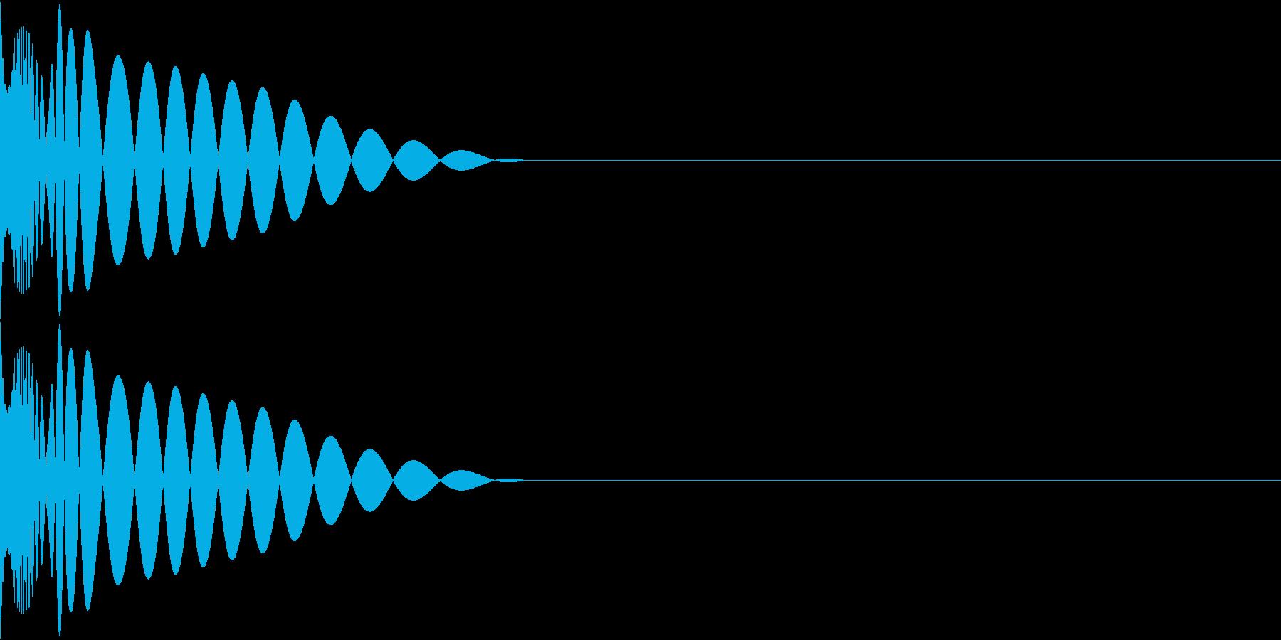 DTM Kick 52 オリジナル音源の再生済みの波形