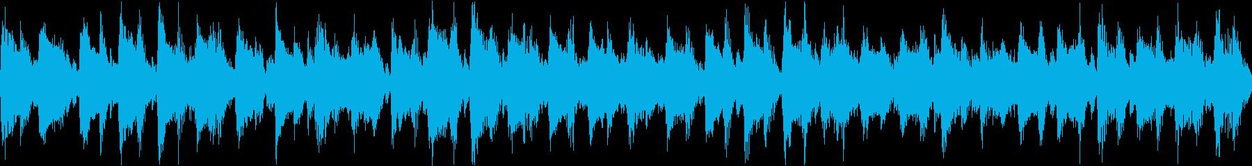 ウクレレやアコースティック楽器で演...の再生済みの波形