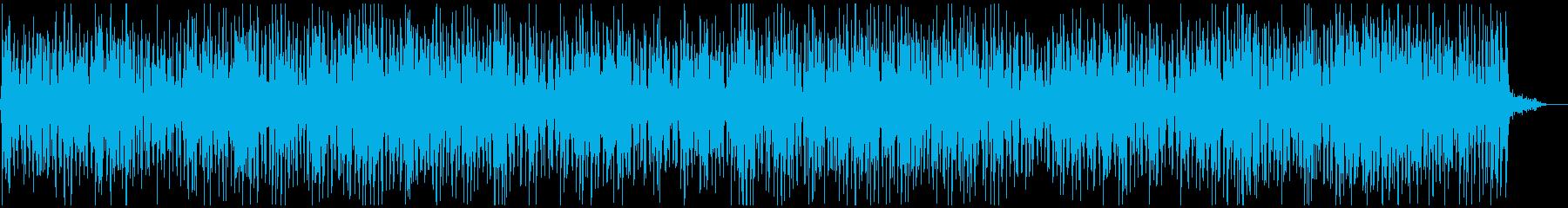 かわいいウクレレポップの再生済みの波形