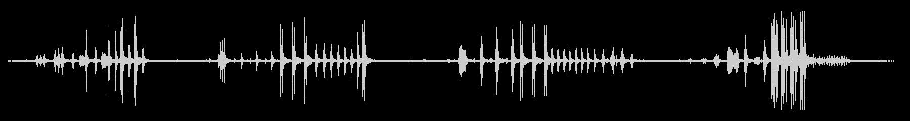 バード、ナイチンゲール、ナイチンゲ...の未再生の波形
