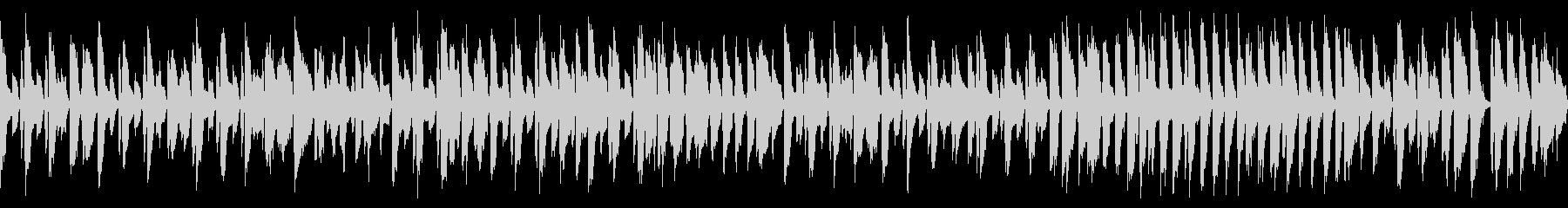 軽快で笑顔になるジャズピアノ名曲(ループの未再生の波形