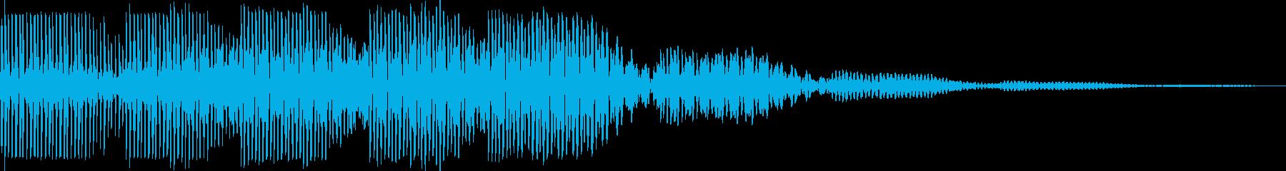 ブウウン(ワープ レーザー モニター)の再生済みの波形