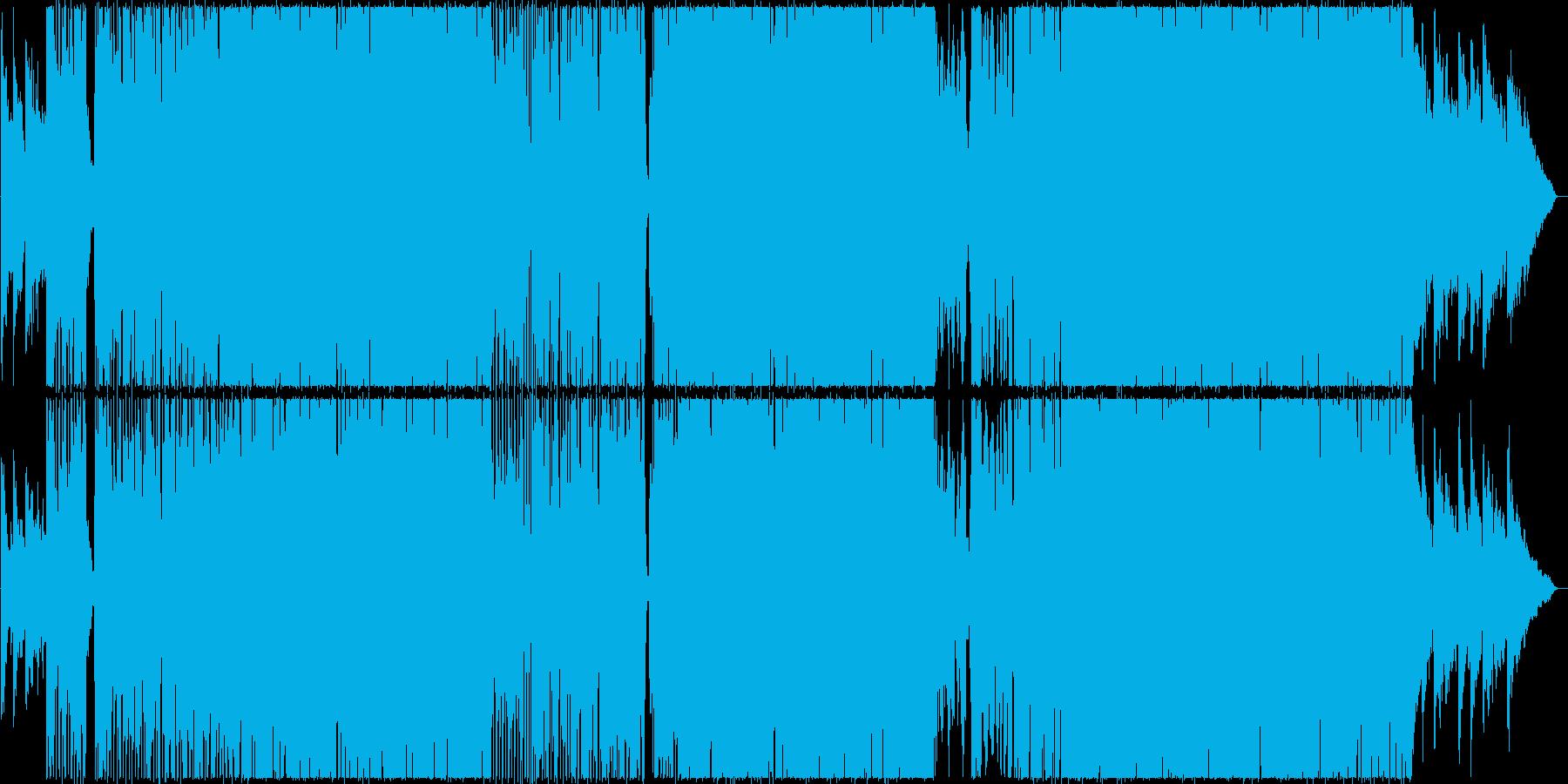 切なくて綺麗なアーバンポップス曲の再生済みの波形