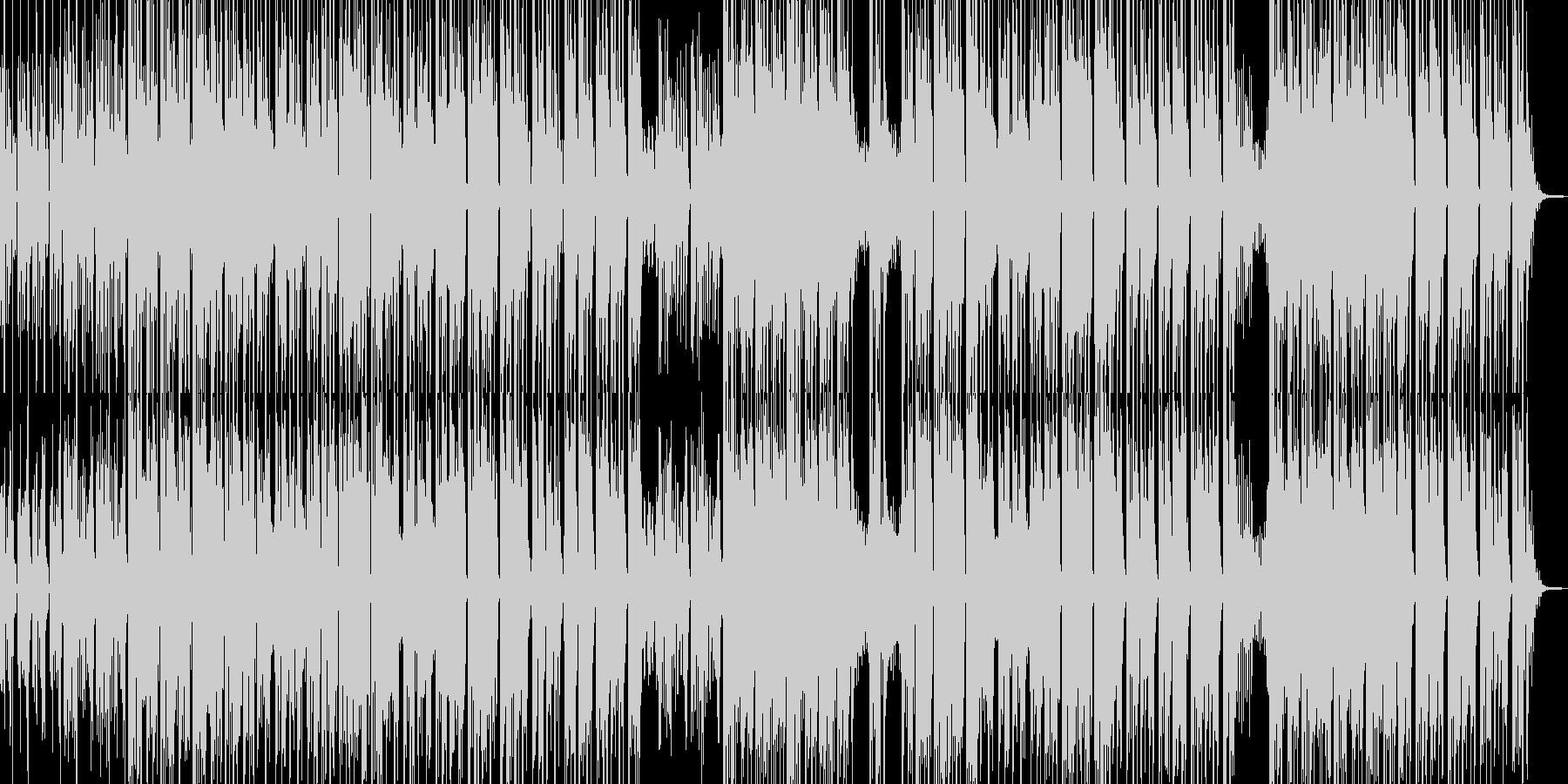 砂漠を感じるクールなエスニックBGM Aの未再生の波形