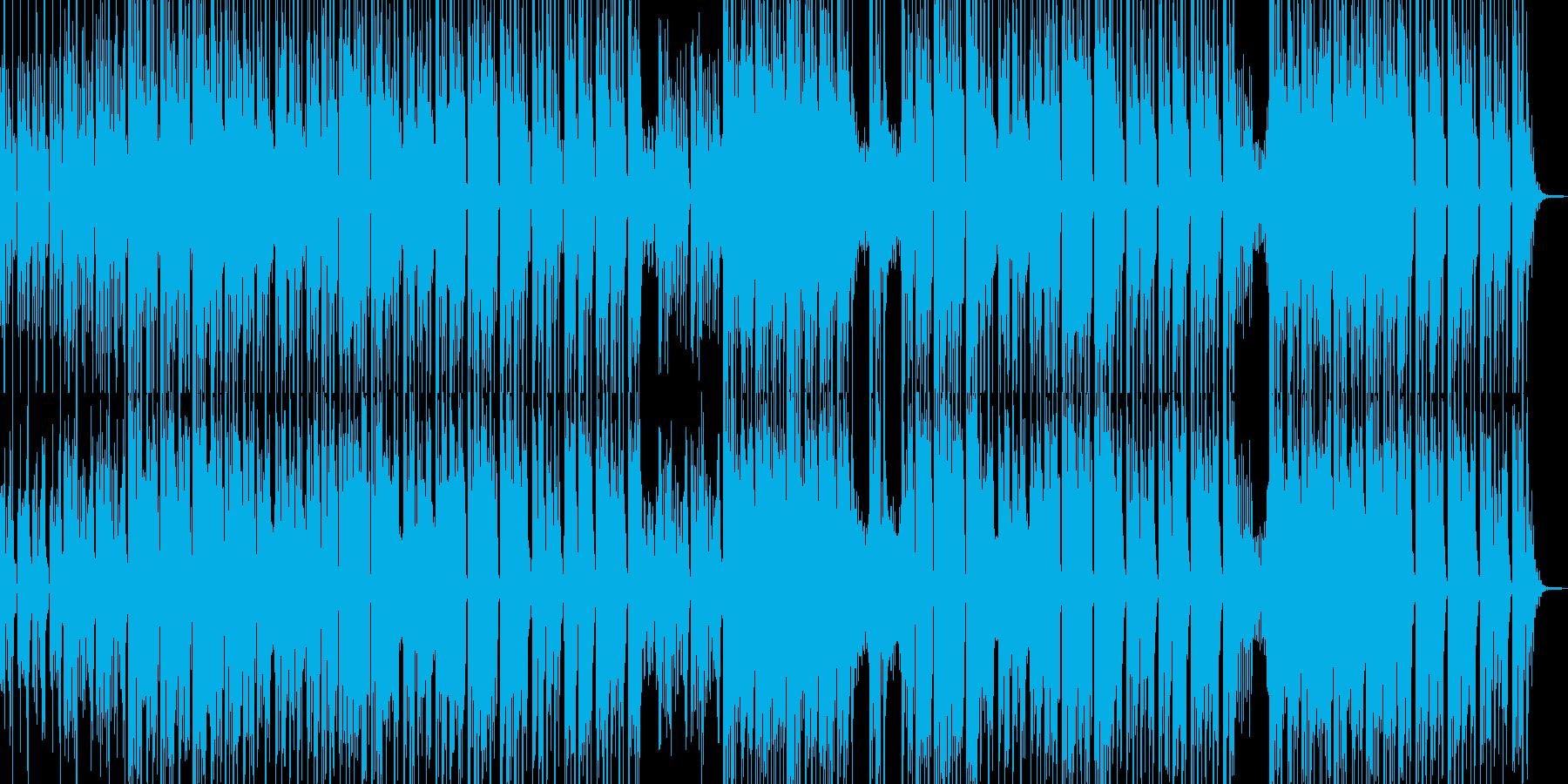 砂漠を感じるクールなエスニックBGM Aの再生済みの波形
