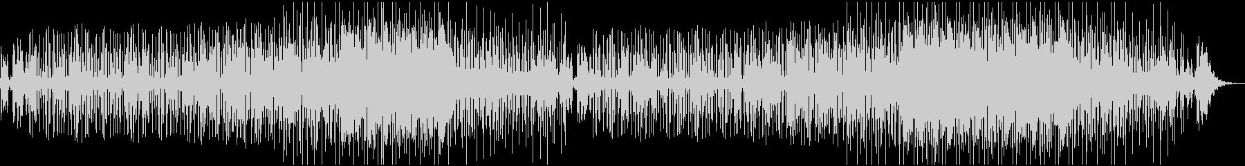 ジャジーでグルーヴィーなオルガンファンクの未再生の波形