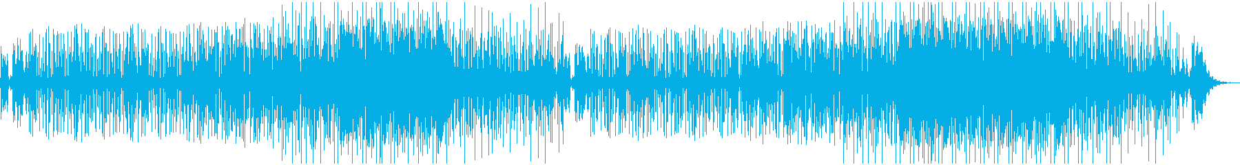 ジャジーでグルーヴィーなオルガンファンクの再生済みの波形