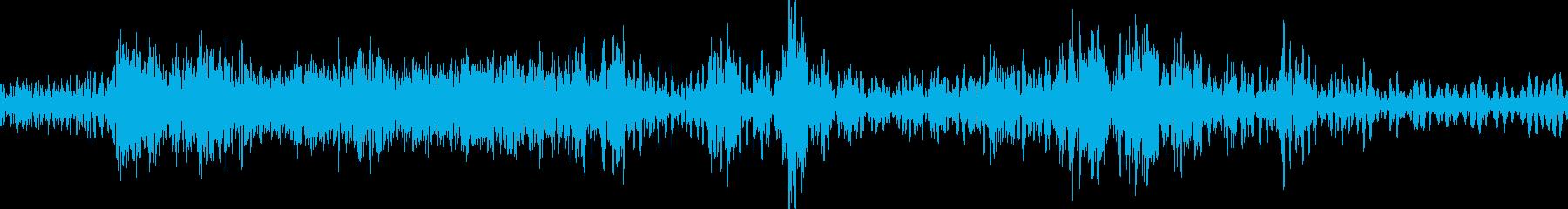 モーションコントロールからのモータ...の再生済みの波形