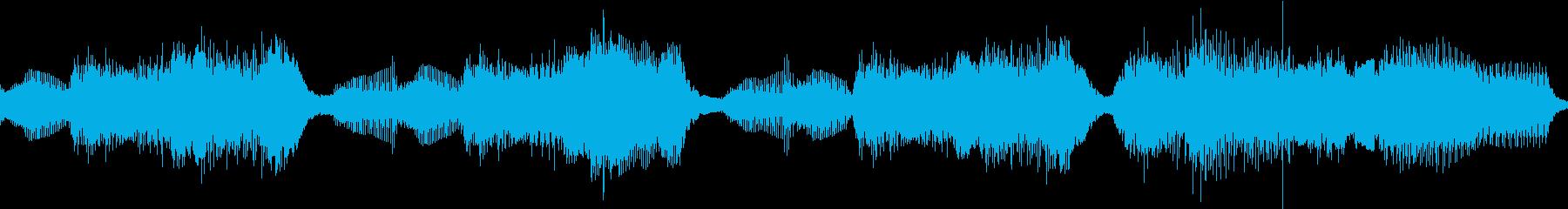 【ハロウィン風】オルガンとベル ループの再生済みの波形