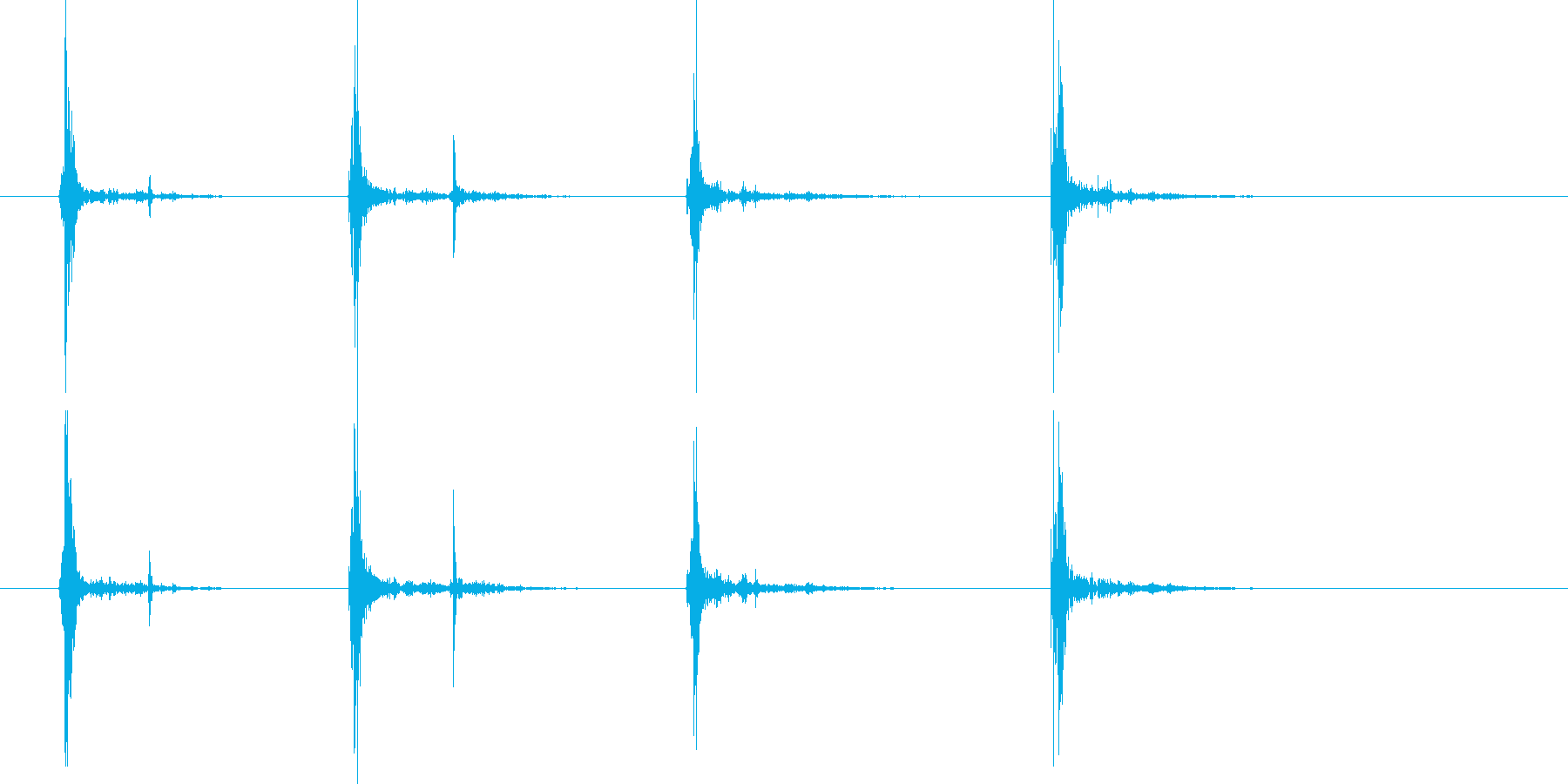 バスケットボールスラムダンク(4x...の再生済みの波形