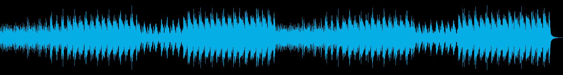 神秘的でレトロなゲーム音楽ですの再生済みの波形