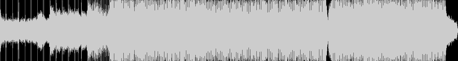 アメイジング・グレイス/テクノアレンジの未再生の波形