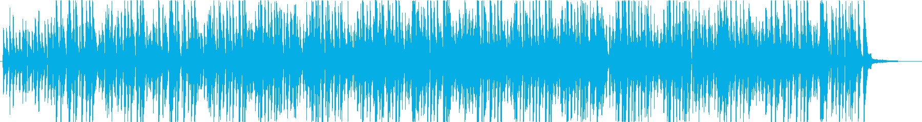明るくコミカルなイメージのジャズBGMの再生済みの波形