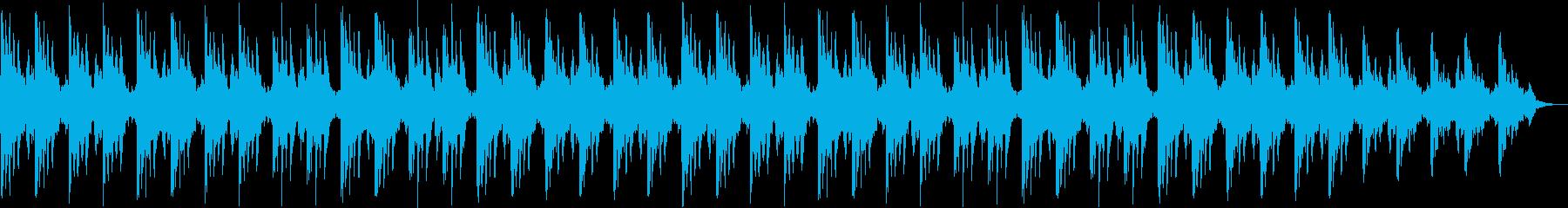 切ない印象シンセサイザーサウンドの再生済みの波形