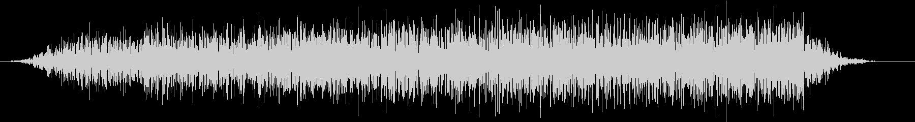 モンスター 悲鳴 42の未再生の波形