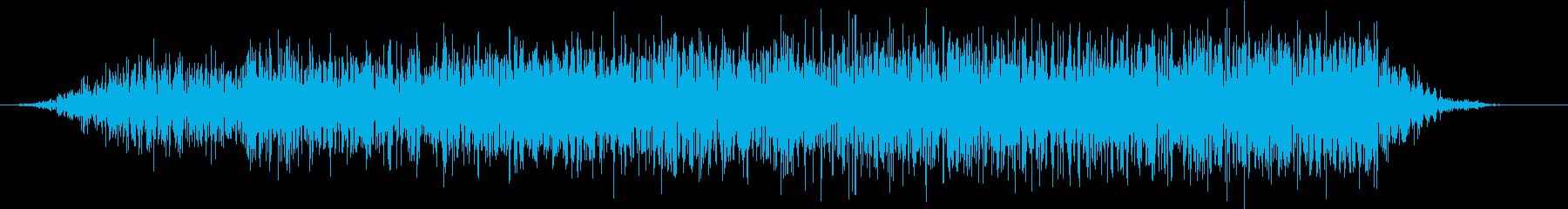 モンスター 悲鳴 42の再生済みの波形