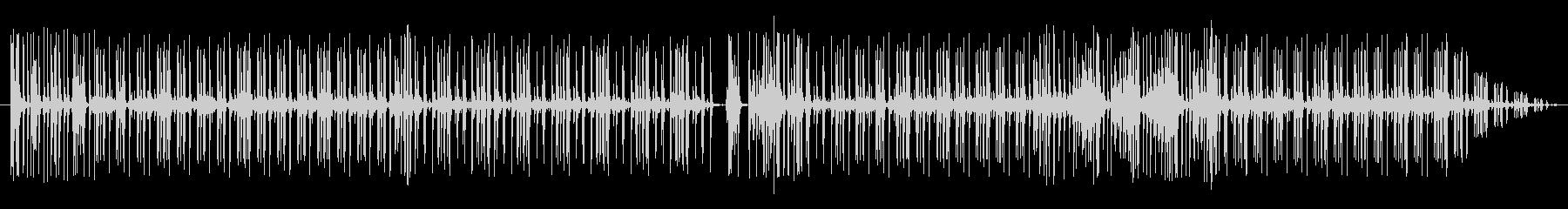 グルーブ16ビートpurdie風ドラム3の未再生の波形