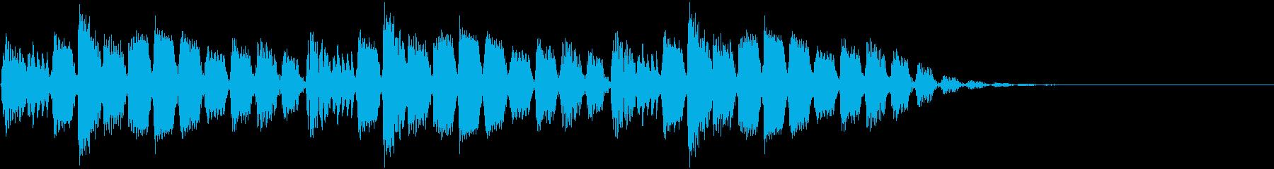 前衛的・抽象的・近未来・ジングル5の再生済みの波形