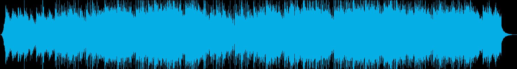 シンプルで落ち着いたギターのコーポレートの再生済みの波形