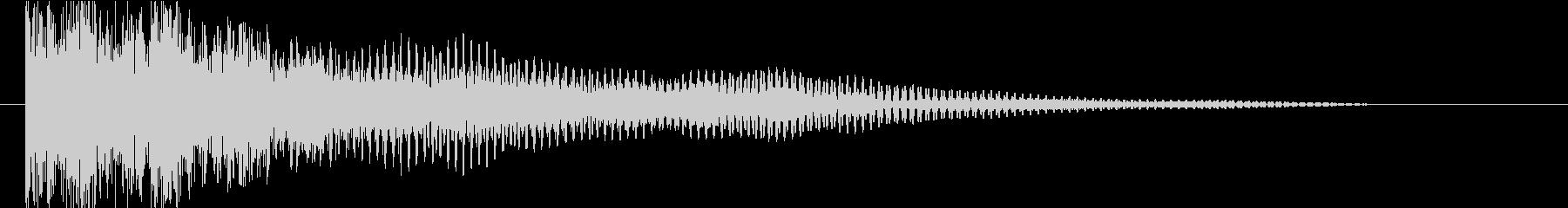 パーカッション サブメタルインパクト01の未再生の波形
