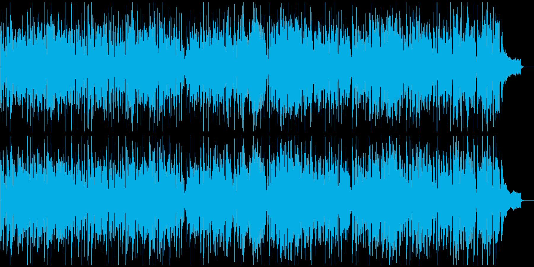 カジノっぽい明るい管楽器ジャズ、ブルースの再生済みの波形