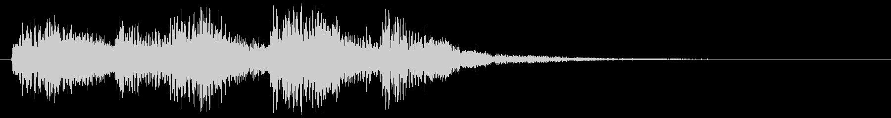 バンババン(スタート音・決定・開始音)の未再生の波形