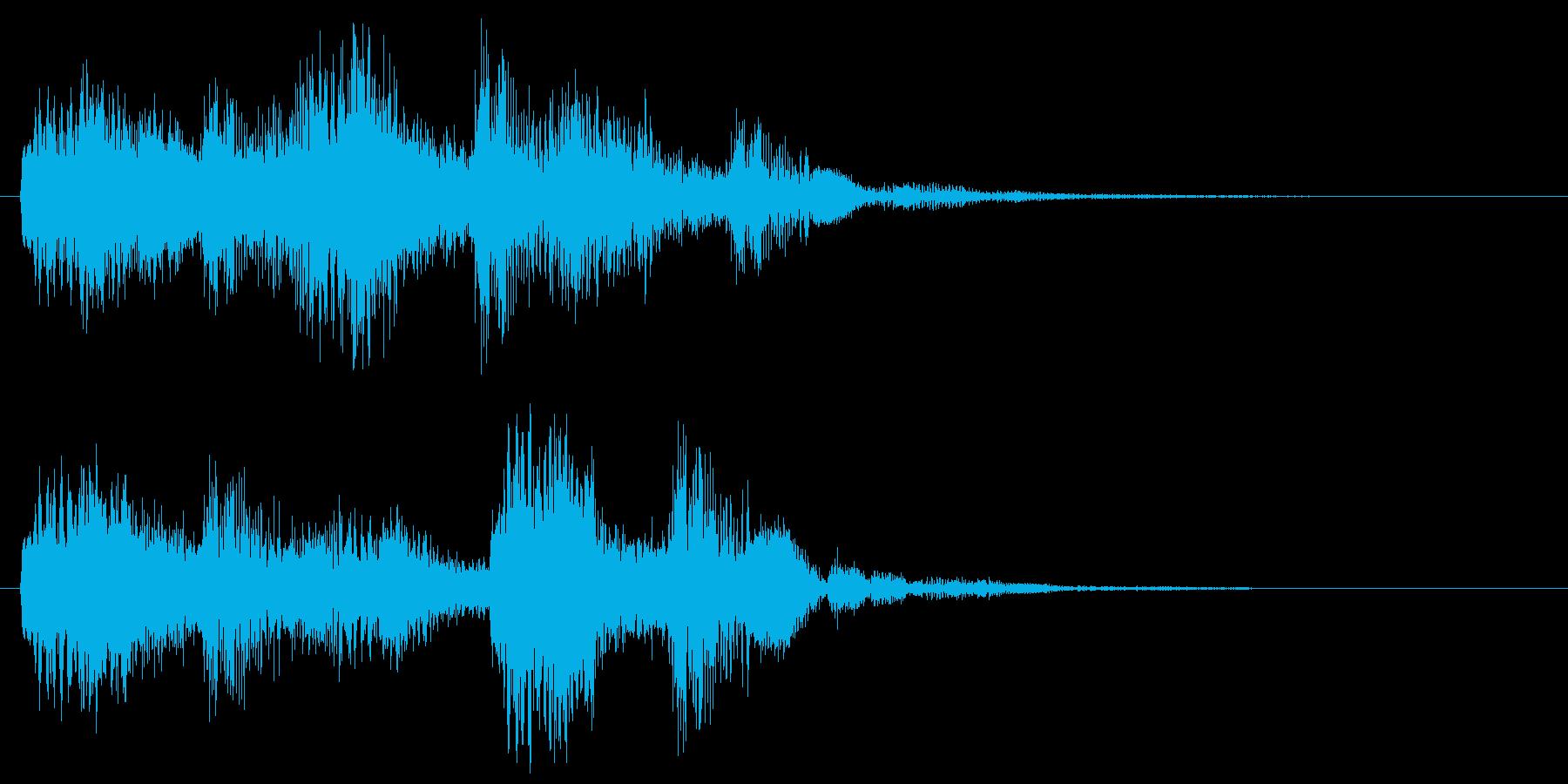 バンババン(スタート音・決定・開始音)の再生済みの波形