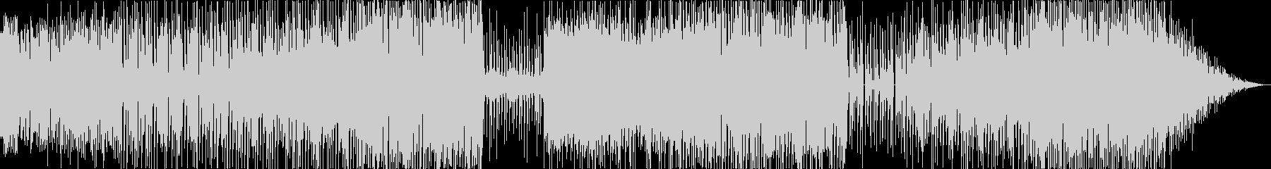 メリーゴーランドのように楽しい電子音楽の未再生の波形