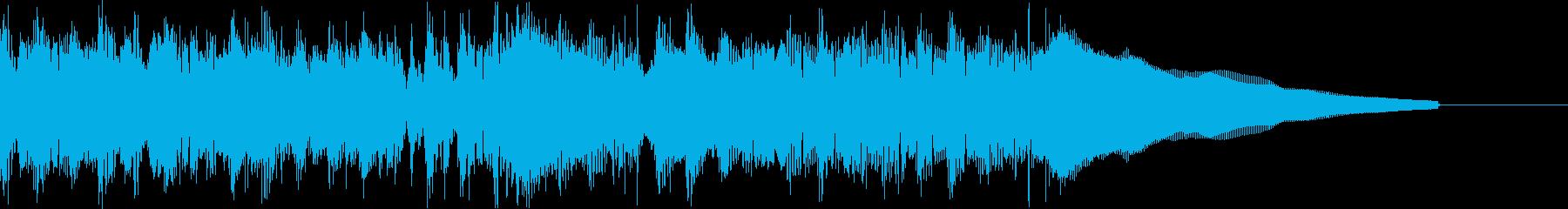 カントリー風ギターイントロ−07Aの再生済みの波形