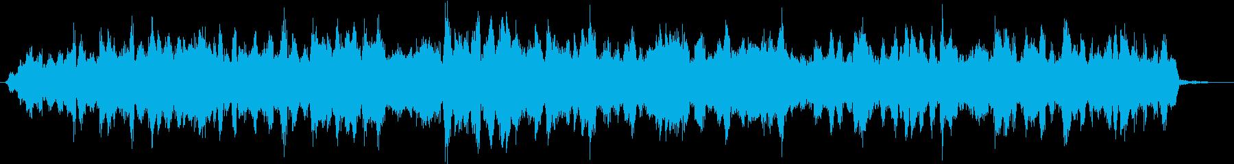 シーン|宇宙からの通信が途絶えた感じ Bの再生済みの波形