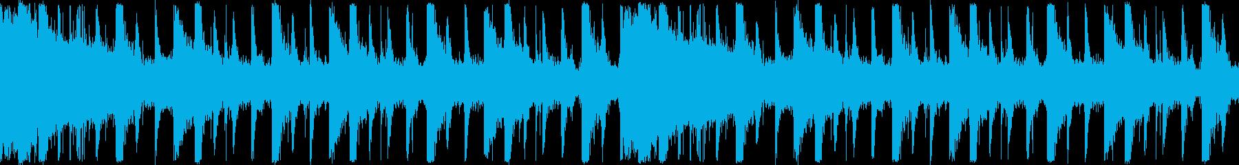 場面を無機質に現すようなBGSの再生済みの波形