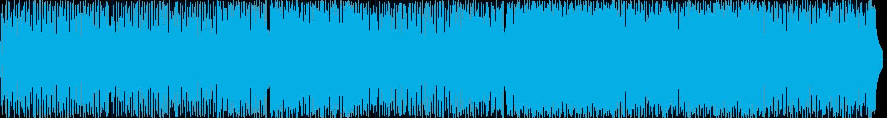 哀愁ジャズボッサの再生済みの波形