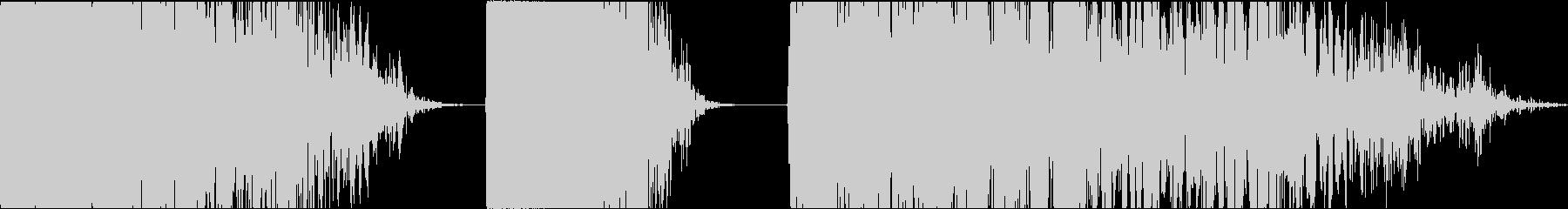 ラウド、低エンジン音、スローインテ...の未再生の波形