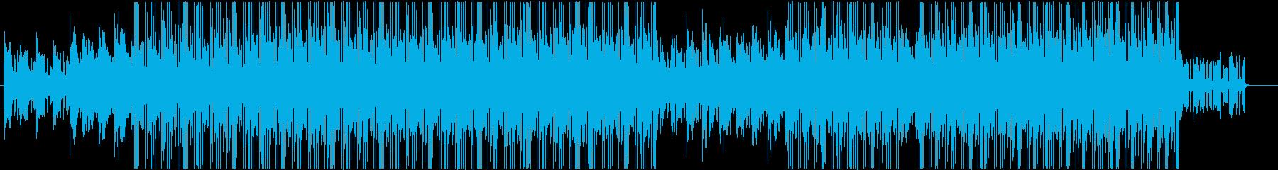 洋楽チルアウト、R&Bミッドテンポ♪の再生済みの波形