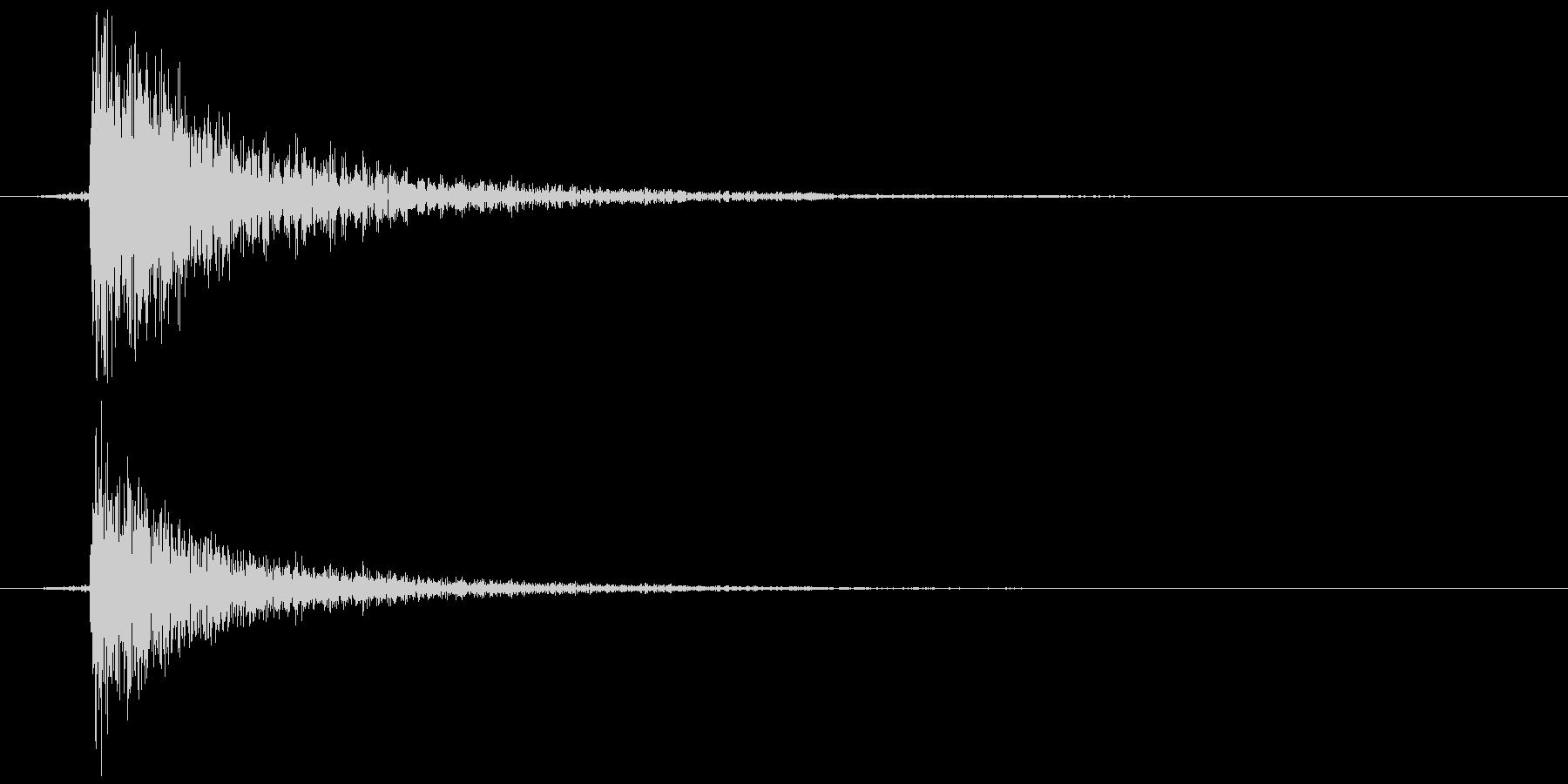 鍵をかける(施錠解錠) コォン の未再生の波形