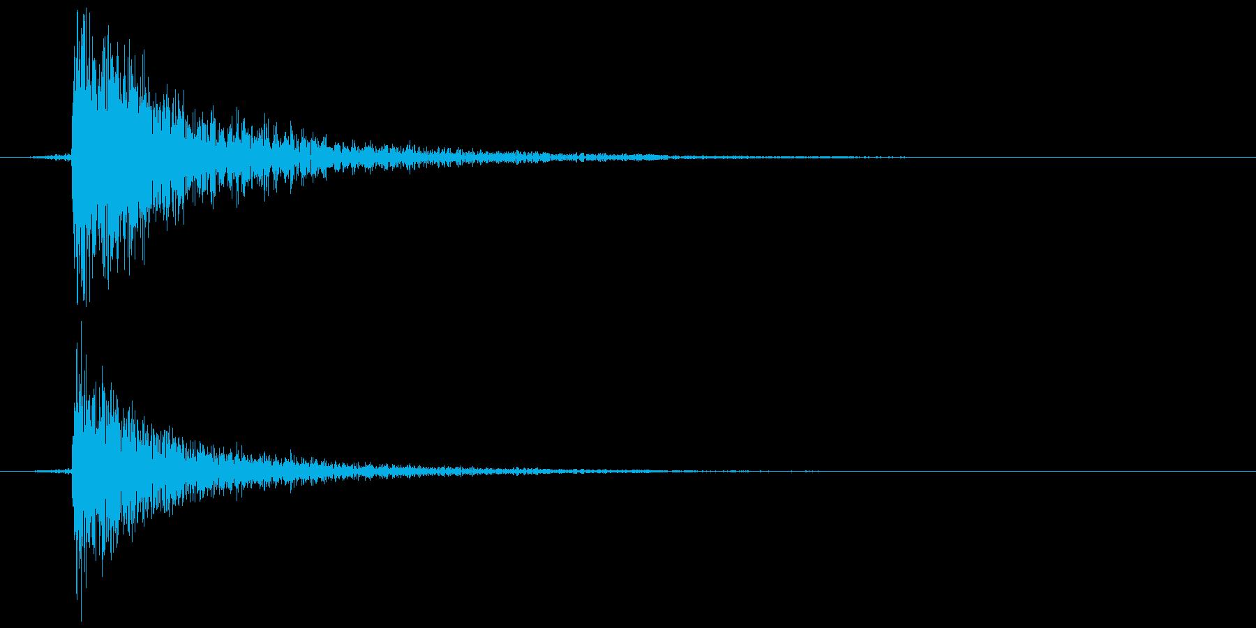 鍵をかける(施錠解錠) コォン の再生済みの波形