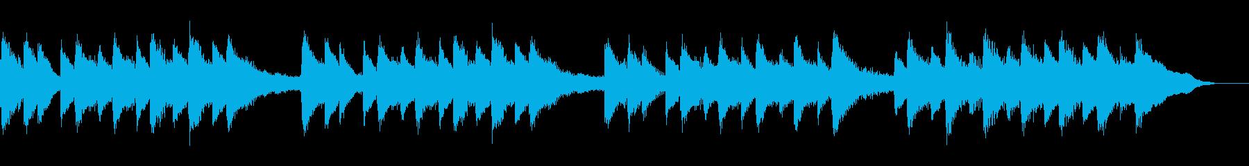 故郷の空 (ピアノ)の再生済みの波形
