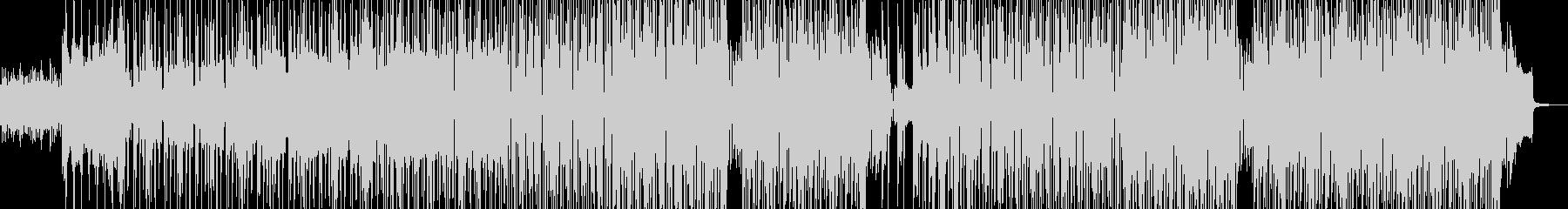 無機質でエモいヒップホップ 長尺+の未再生の波形