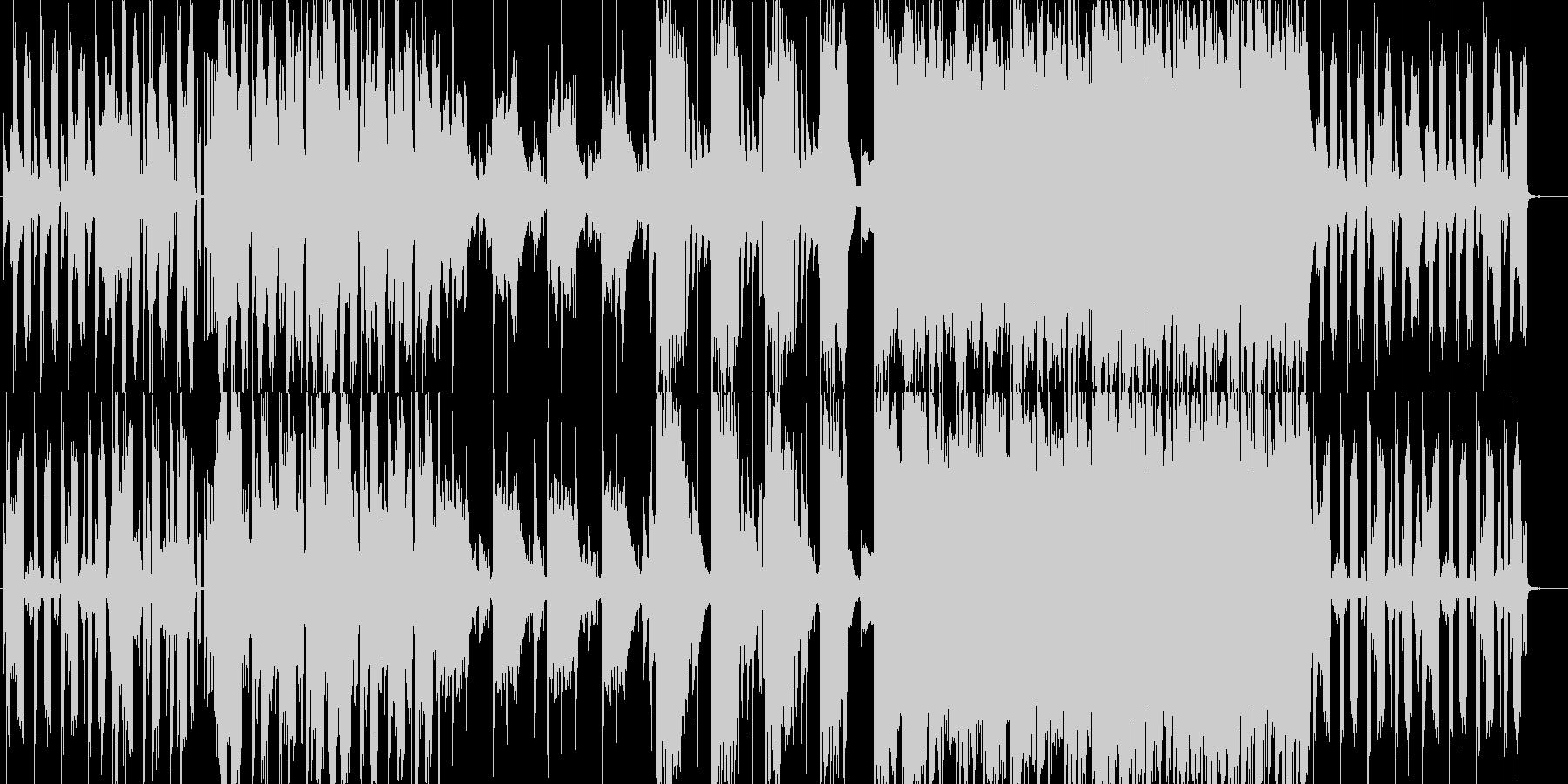 おしゃれな映像作品に合いそうな楽曲の未再生の波形