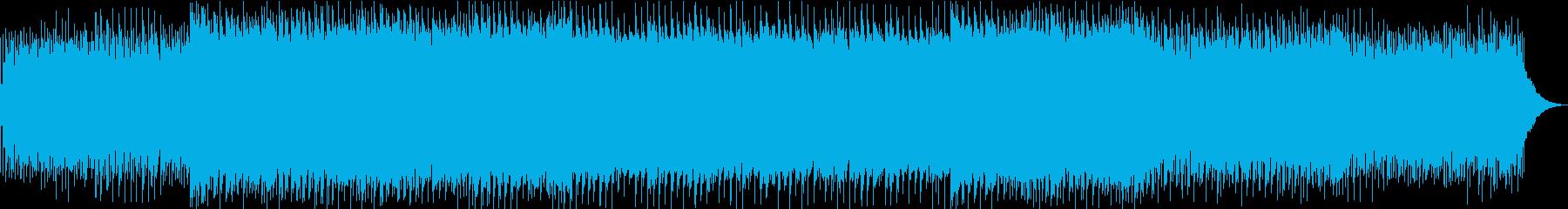 ギターのアルペジオがクールなテクノポップの再生済みの波形