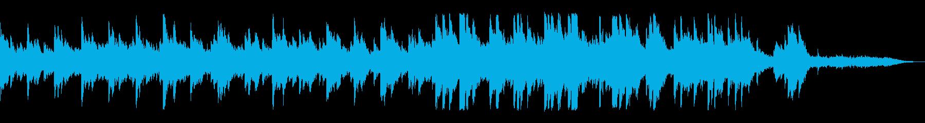 マリンバ&ソフトピアノ優しいコーポレートの再生済みの波形