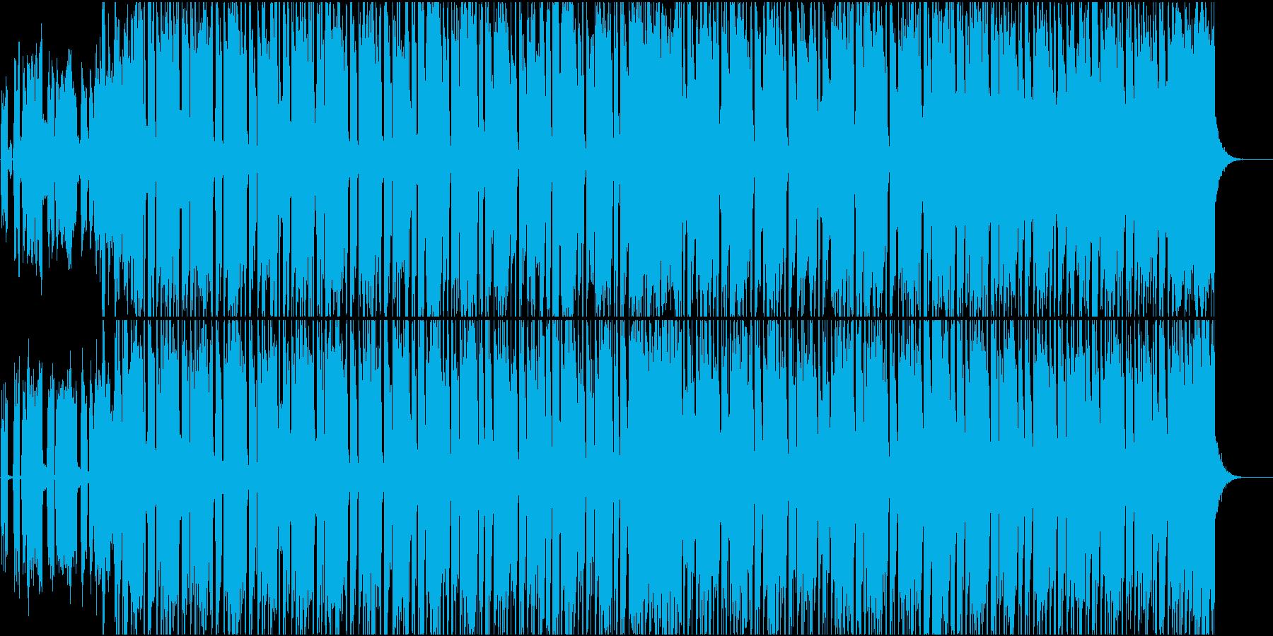 夏プロモ映像BoomBap系ヒップホップの再生済みの波形