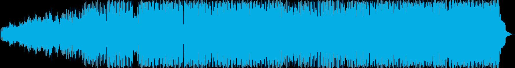 ポップでキャッチーなダンスミュージックの再生済みの波形