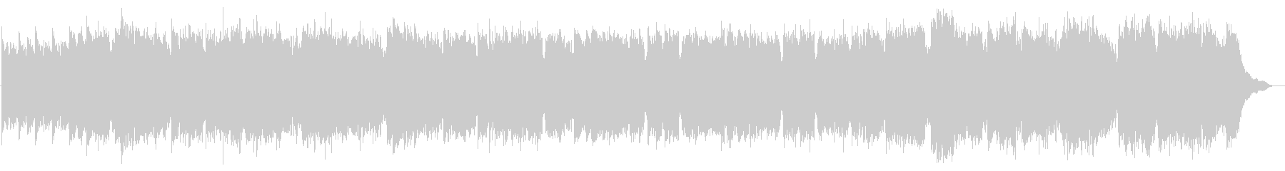 民族調三拍子のフルートオリジナル曲の未再生の波形