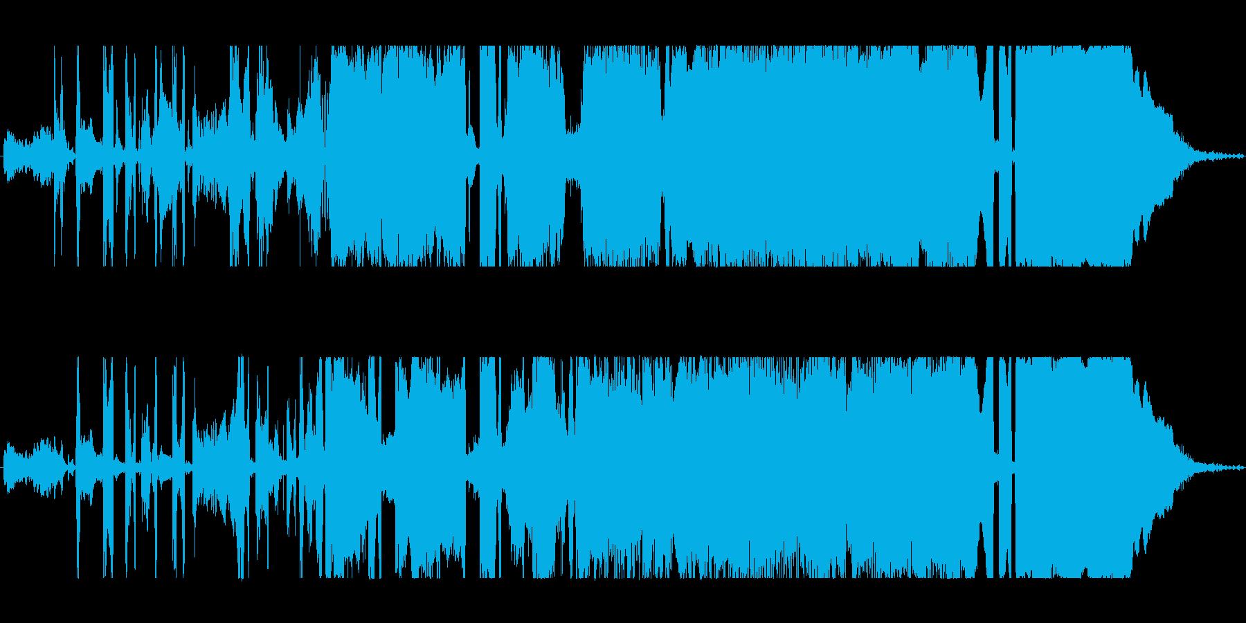 トロール 悲しいトロール01の再生済みの波形