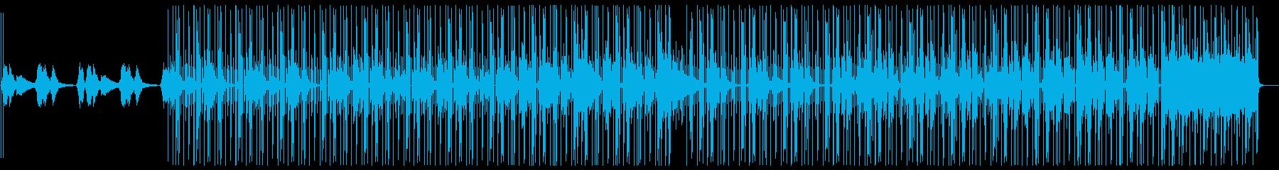 幻想的 電子音 チルアウト ヒップホップの再生済みの波形