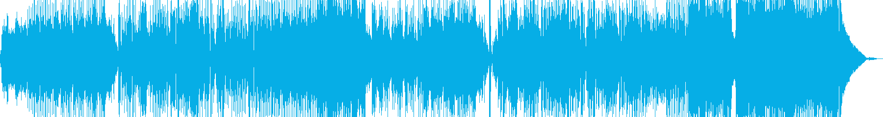新鮮な空気感を演出・クールなロック Bの再生済みの波形