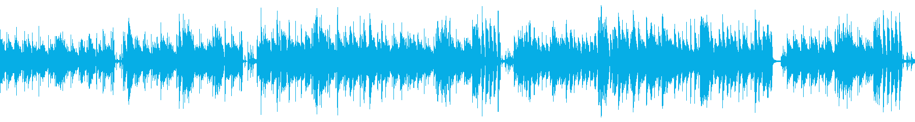 温かい・ほのぼの・日常BGMループの再生済みの波形